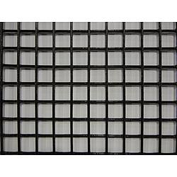 Wire Mesh Black Med 12In. W 24In. L