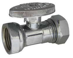 Water Supply Stop Straight Valve Chrome