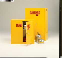 Flammable Safety Cabinet 45 Gal. Beige