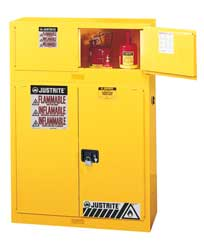 Flammable Safety Cabinet 12 Gal. Yellow
