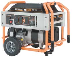 Portable Generator Rated Watts6500 410cc