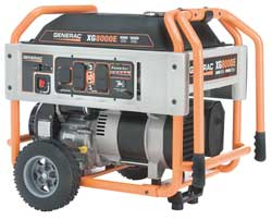 Portable Generator Rated Watts8000 410cc