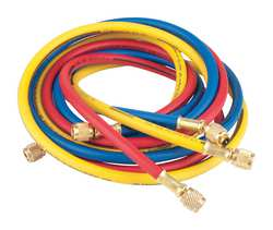 Charging Hose Set 72 In Red Yellow Blue
