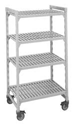 Mobile Shelving Unit 75InH 18InW 48InD