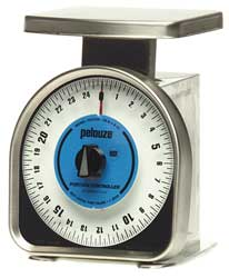Mechanical Portion Contrl Scale 25lb Cap