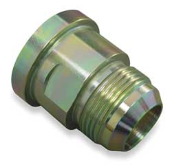 Hose Adapter JIC to Flange 3/4-16x1/4