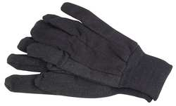 D1427 Jersey Gloves Poly/Cotton S Brown PR