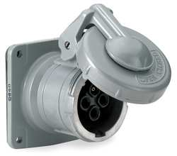Pin and Sleeve Receptacle 100A 600VAC