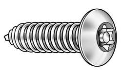 Tamper Screw Button #8 3/4 L PK 25