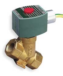 Steam Solenoid Valve 1/2 In. NC Brass