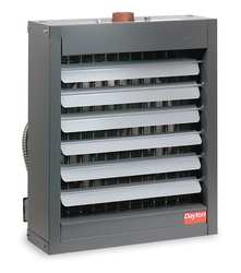 Hydronic Unit Heater 20 in D 5500 cfm