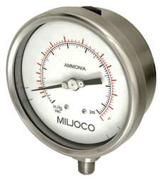 Compound Gauge 30 Hg to 300 psi 4In