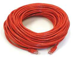 Patch Cord Cat5e 100Ft Red