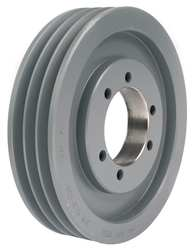 V-Belt Pulley Detachable 3Groove 8 OD