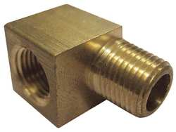 Street Elbow Brass 90Deg  1/2 In PK 10