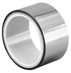 Metalized Film Tape Silver 1-1/2In x 5Yd