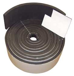 Sponge Roll Rubber 3/16x1 In 50 Ft.