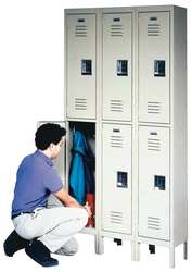 Wardrobe Locker Unassembled 2-Point