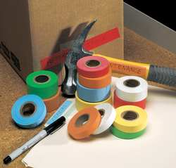 Carton Tape Paper Blue 1/2 in x 14 Yd.