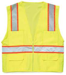 High Visibility Vest Class 2 2XL Lime